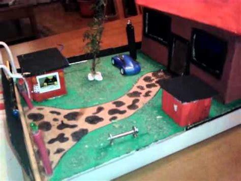 circuito electrico en una vivienda bricolaje casa circuito electrico maqueta casa mp4 youtube
