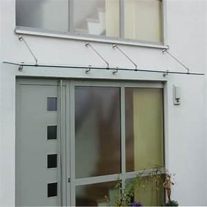Vordach Glas Edelstahl : glas vordach mit runden haltern aus edelstahl ~ Whattoseeinmadrid.com Haus und Dekorationen