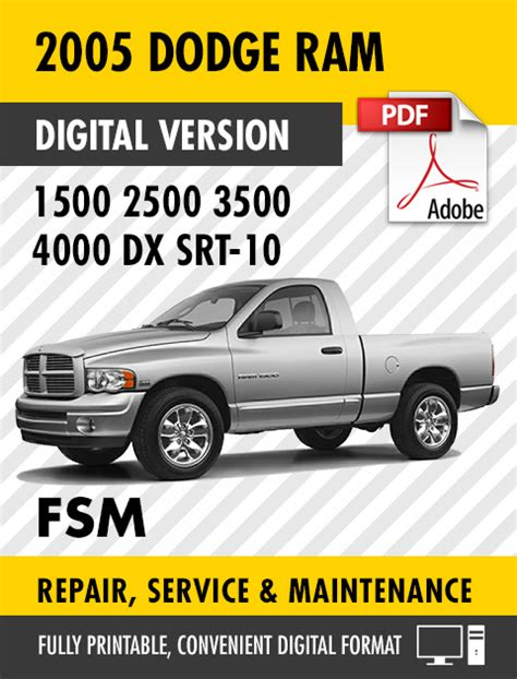 small engine repair manuals free download 2005 dodge ram 2500 free book repair manuals 2005 dodge ram truck 1500 2500 3500 4000 dx srt 10 factory repair service manual s manuals