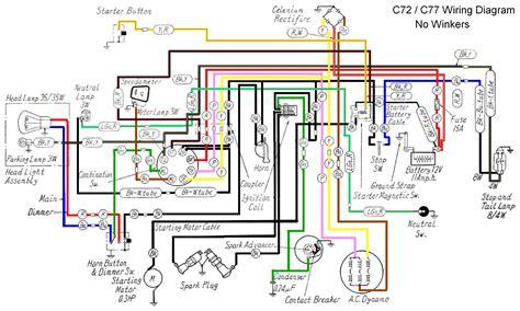 honda wave motorcycle wiring diagram wiring diagram and