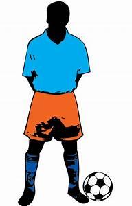 Football player standing