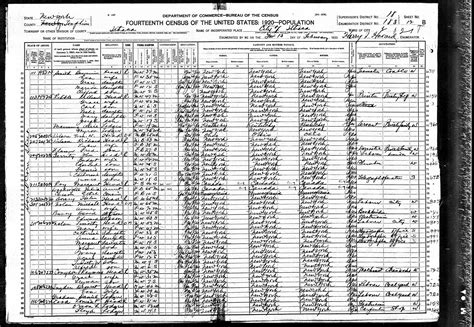 united states bureau of the census 1920 united states federal census