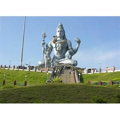 Panoramio - Photo of Lord Shiva Statue at Murudeshwara