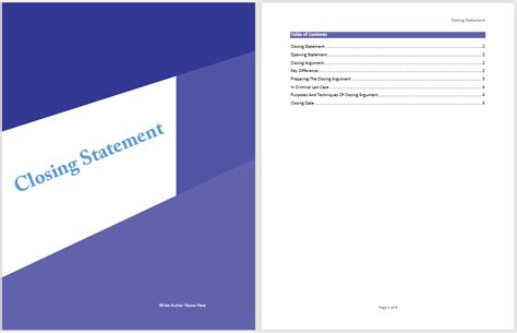 resume closing statements exles doc 600812 statement templates printable account statement template for excel 78 more docs
