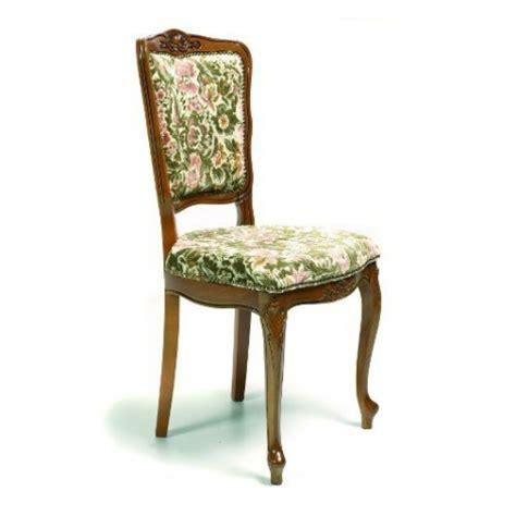 chaise de style régence en tissu 135