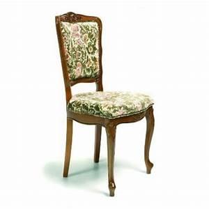 Chaise De Style Rgence En Tissu 135