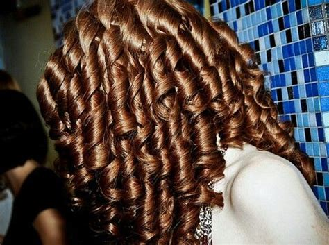 ringlets curls   hair styles hair curled