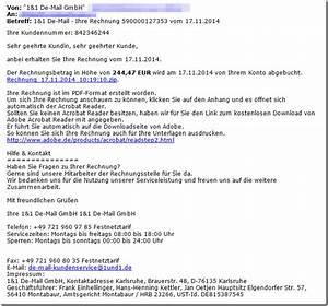 Anbei Erhalten Sie Die Rechnung Mit Der Bitte Um Ausgleich : trojaner warnung anbei erhalten sie ihre rechnung vom ~ Themetempest.com Abrechnung