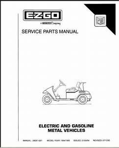 Ezgo 28081g01 1994