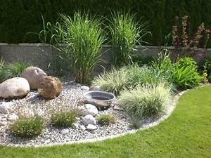 Pflanzen Für Steinbeet : beetgestaltung mit brunnen steinbeet anlegen kiesbeet anlegen steinbeet anlegen ~ Orissabook.com Haus und Dekorationen