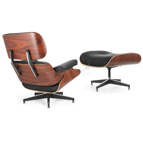 imitation chaise eames lounge chair ottoman eames replica deluxe black