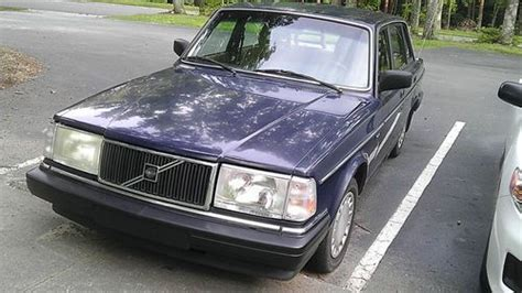 sell used volvo 240dl 1989 4 cylinder 4 doors in durham carolina united states