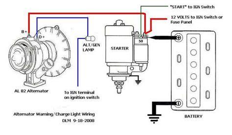 vw generator to alternator conversion wiring diagram