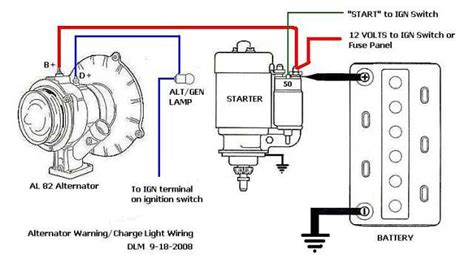 Generator Alternator Conversion Wiring Diagram