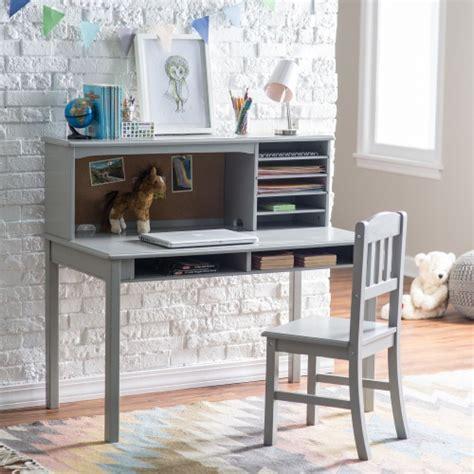 Guidecraft Desk by Guidecraft Media Desk Chair Set Gray Desks At