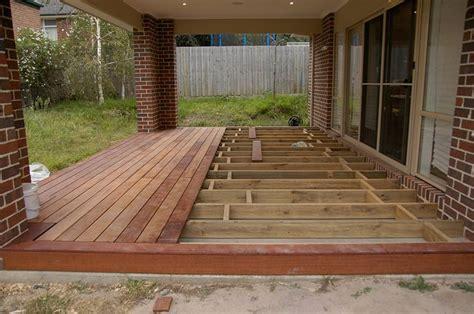 install decking  concrete porch google search diy