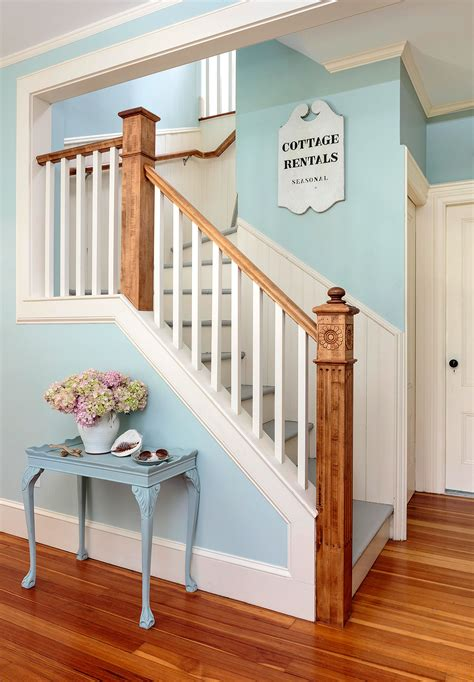 stairway railing ideas  homes gardens