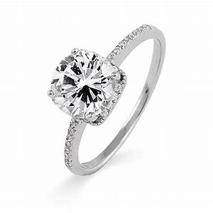 real silver diamond rings wedding promise diamond With sterling silver wedding rings with real diamonds