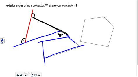 section  part  geometry polygon angle sum theorems