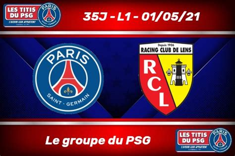 [35J-L1] Le groupe du PSG face au RC Lens - Les Titis du PSG