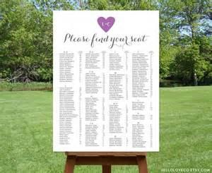 wedding seat chart template printable alphabetical wedding seating chart 2500899