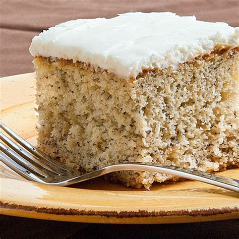 simple banana cake with sour frosting real mom kitchen