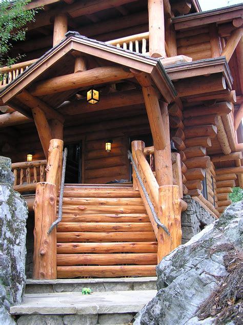 classic full log homes log cabin builders custom