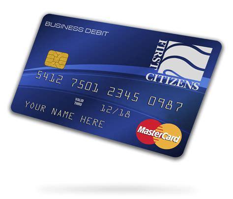 business debit card  citizens bank