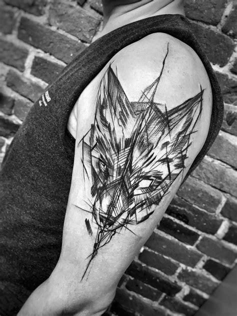 Inez Janiak sketch tattoos | Wolf tattoos, Fox tattoo