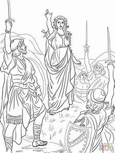 Deborah Leads Israel coloring page | Free Printable ...