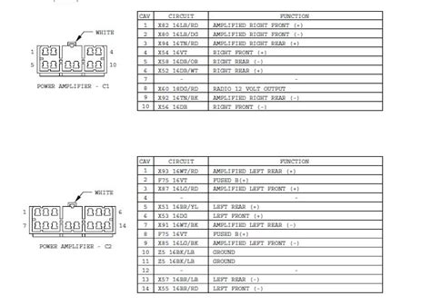great  jeep grand cherokee infinity gold wiring diagram