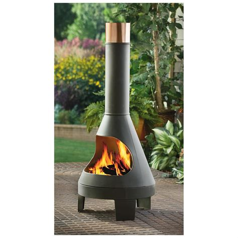 Chiminea Grill Rack by Castlecreek Chiminea 232290 Pits Patio Heaters