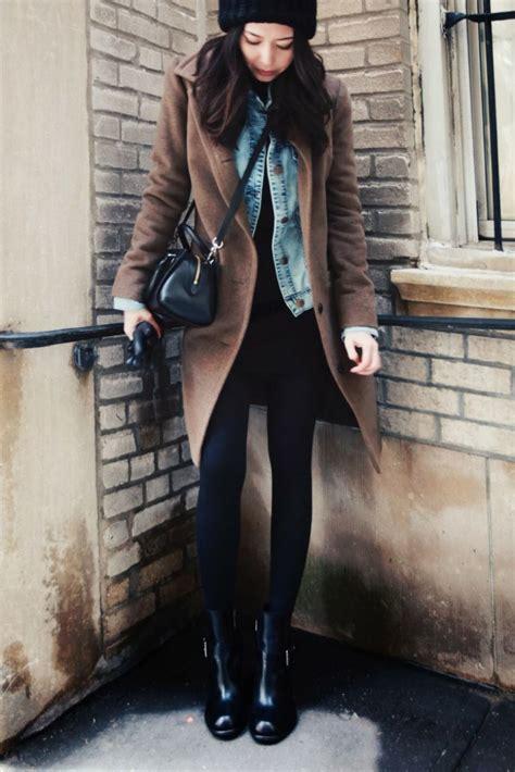winter style damen jeansjacke f 252 r damen richtig kombinieren 20
