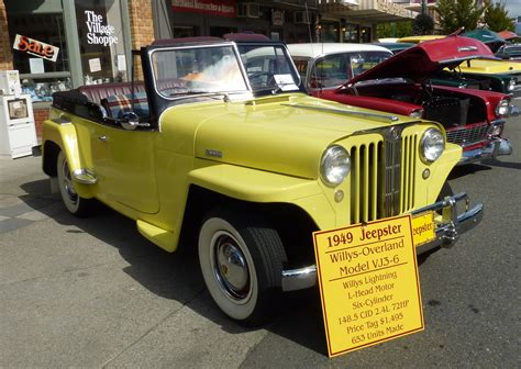 1949 willys jeepster 1949 jeep jeepster photos informations articles