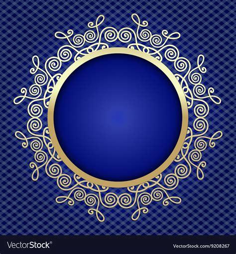 beautiful elegant card background  gold vector image