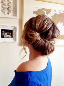 Comment Attacher Ses Cheveux : comment se coiffer avec un headband les demoizelles ~ Melissatoandfro.com Idées de Décoration
