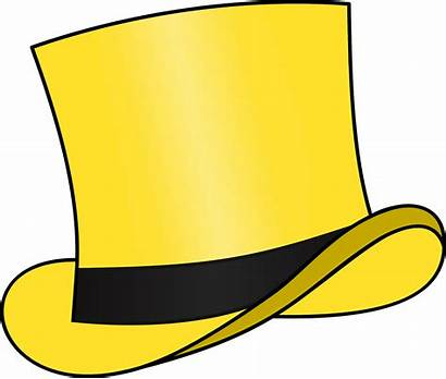 Hat Yellow Transparent Clipart Sombreros Sombrero Openclipart