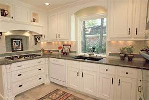 white kitchen cabinets how to realize this design With what kind of paint to use on kitchen cabinets for baseball wall stickers