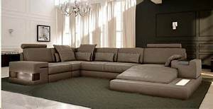Canape d angle confortable idees de decoration for Canapés italiens