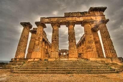 Greek Temple Ancient Sicily Selinunte Greece Ruins