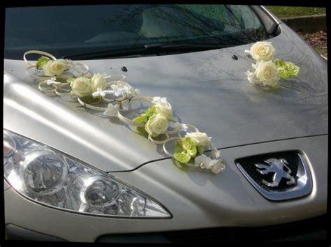 bouquet de mari 233 e d 233 coration de voiture d floral