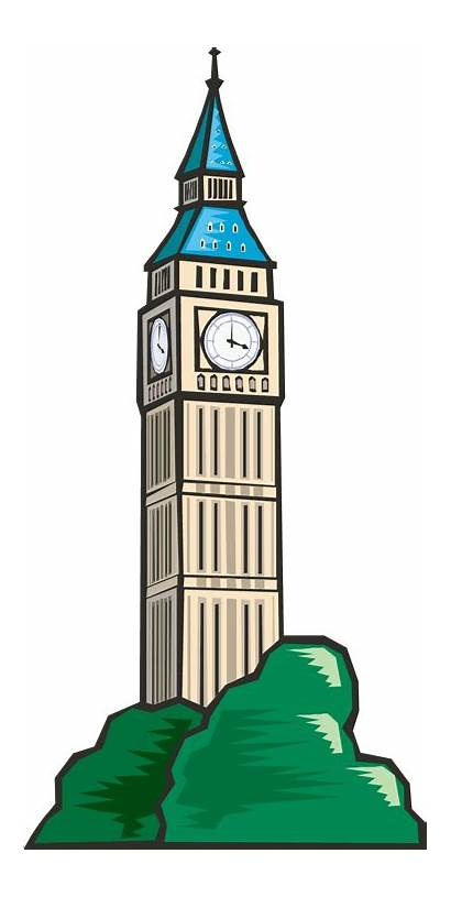 Tower Clock Clipart Clip Town Council Ben