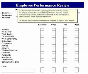 free printable employee review forms search results With employee performance reviews templates