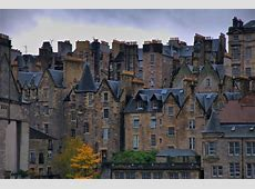 Old Town, Edinburgh, Scotland Most Beautiful Places in