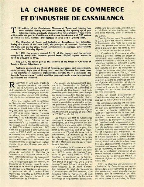 chambre de commerce du maroc evolution du maroc en 1951 page 3