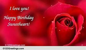 You Are The Love Of My Life! Free Birthday for Her eCards ...