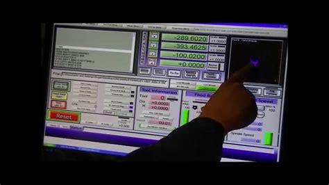 mach basic tutorial machine work area configuring