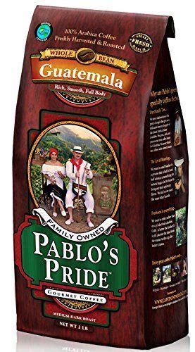 Specialty coffee growers and roasters | twuko. Pablo's Pride Gourmet Coffee Genuine Guatemala Antigua Medium-dark Roast Whole Bean. 2 Lb Bag ...