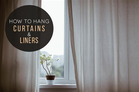 how to hang curtains liners chicago interior design