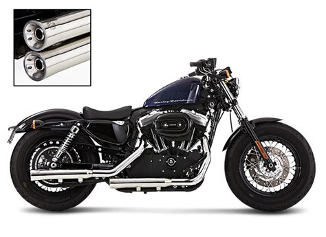 Exhaust Silencer Falcon For Harley Davidson Sportster 1200